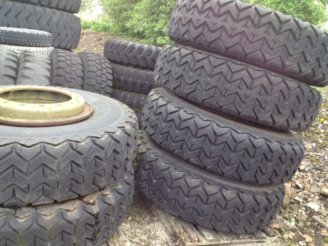 Michelin 14.00R24 tyres (Unused) | Military Land Rovers 90, 110,130, Range Rovers, Mercedes for Sale