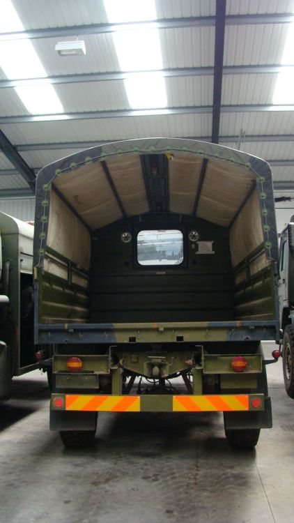 MAN 8.136 FAE 4x4 Drop side cargo truck   used military vehicles, MOD surplus for sale