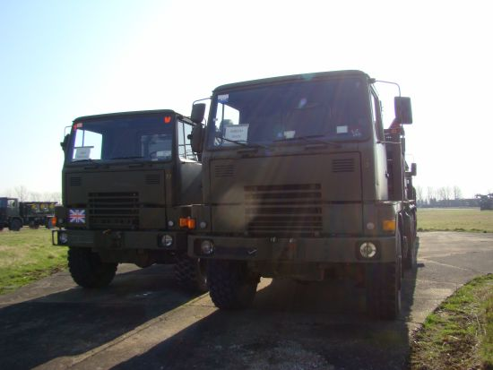 Bedford TM 6x6 Tipper Truck ex military for sale  NATO army