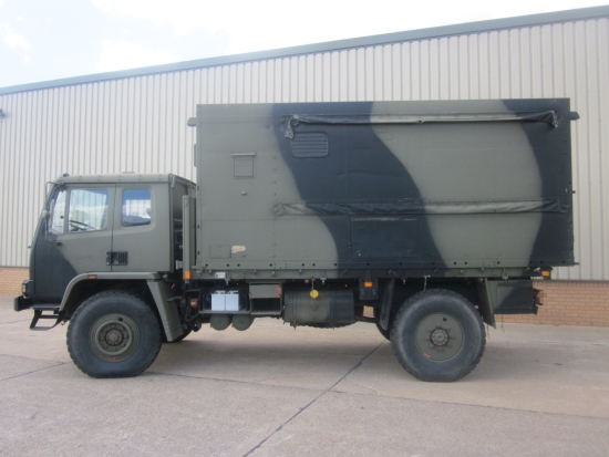 Leyland Daf 4x4 workshop truck for sale | military vehicles