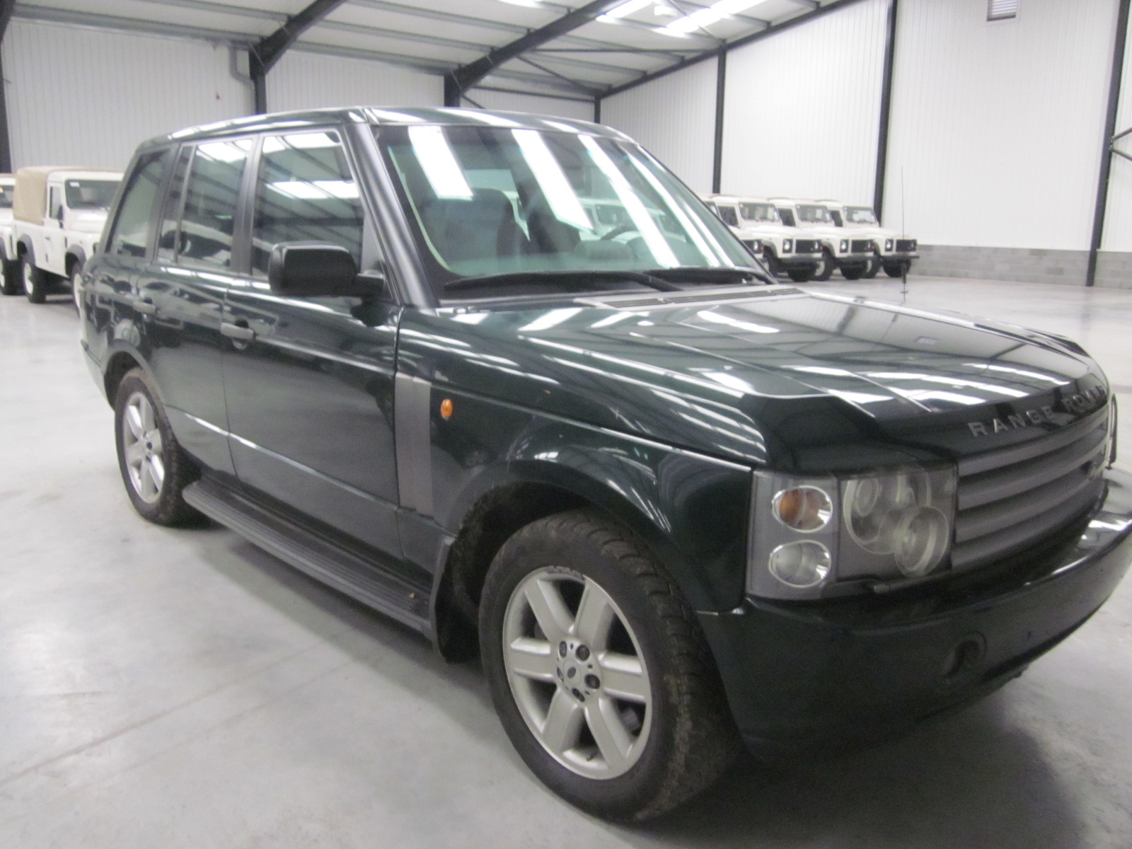 Armoured Range Rover vogue LHD V8 for sale | military vehicles