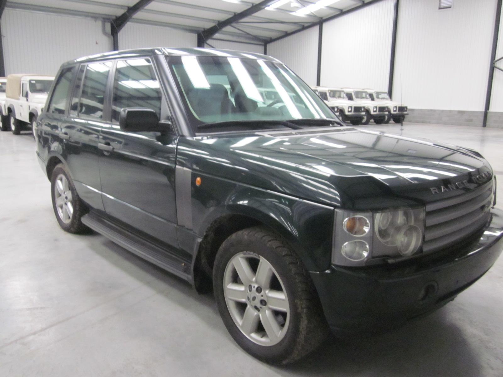 Armoured Range Rover vogue LHD V8