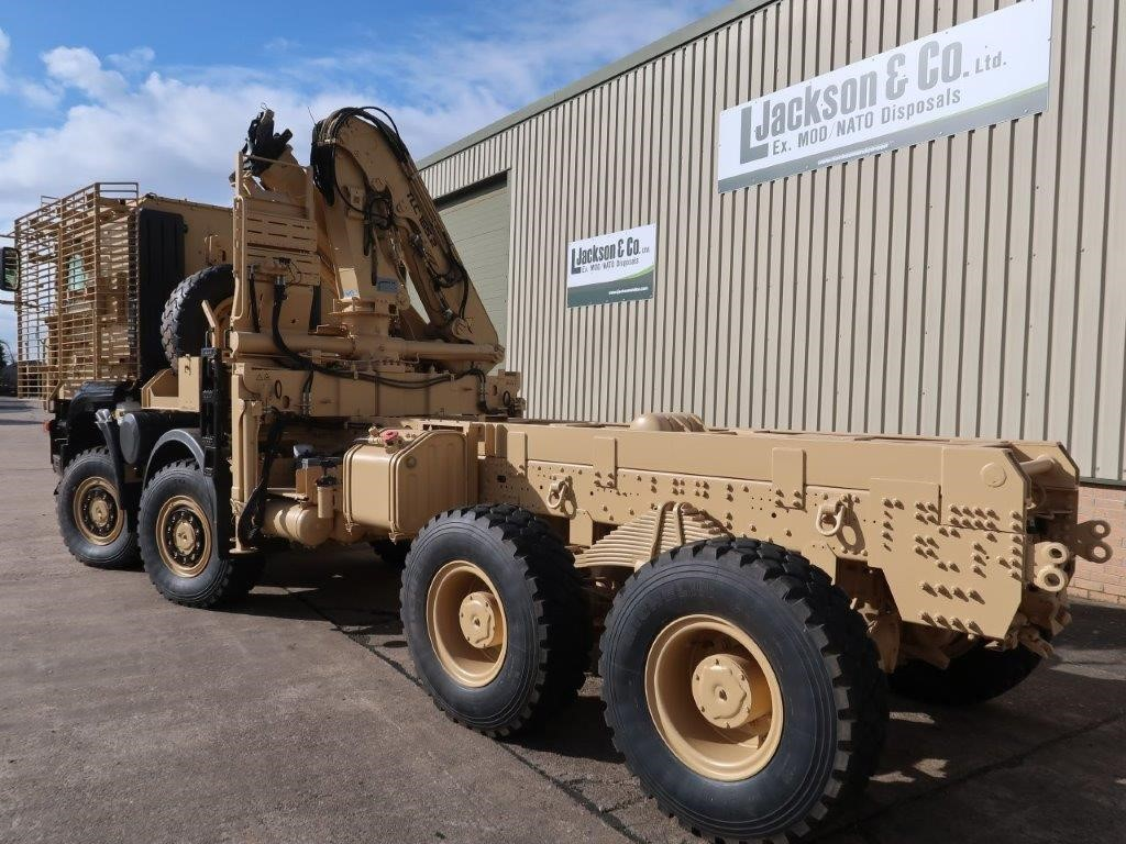 Iveco Trakker 8x8 with Armoured Cab for sale