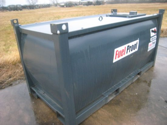 SOLD Bunded 2,000 litre skid tank | used military vehicles, MOD surplus for sale