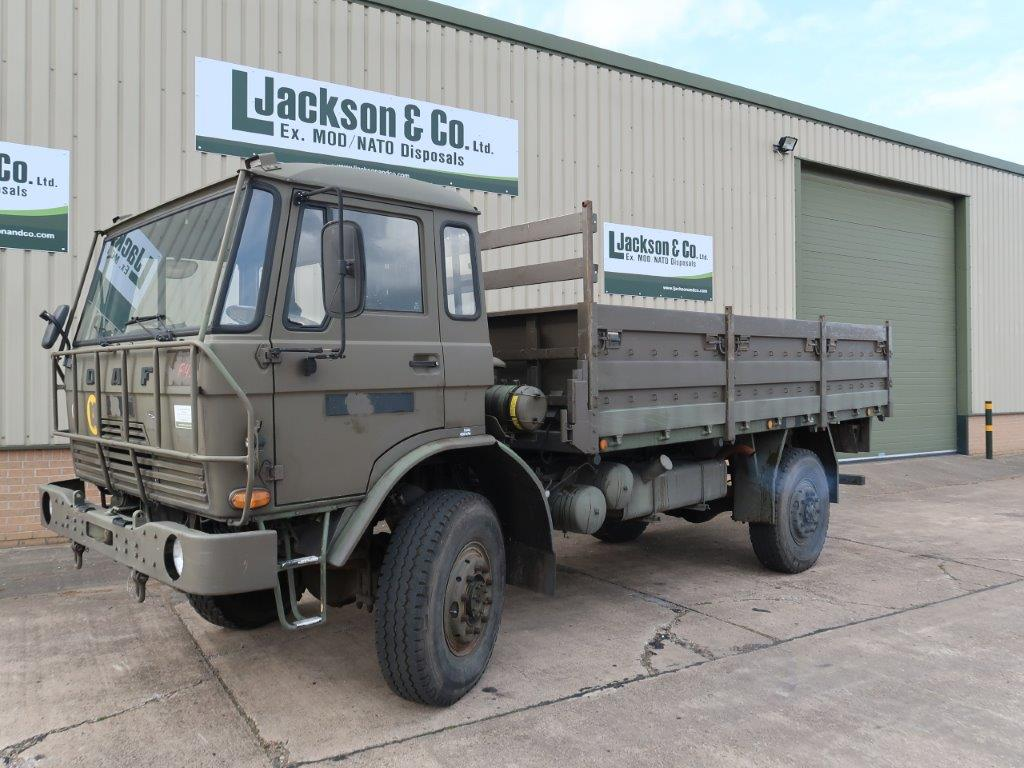 DAF YA4440 4x4 Drop Side Cargo Truck for sale | military vehicles