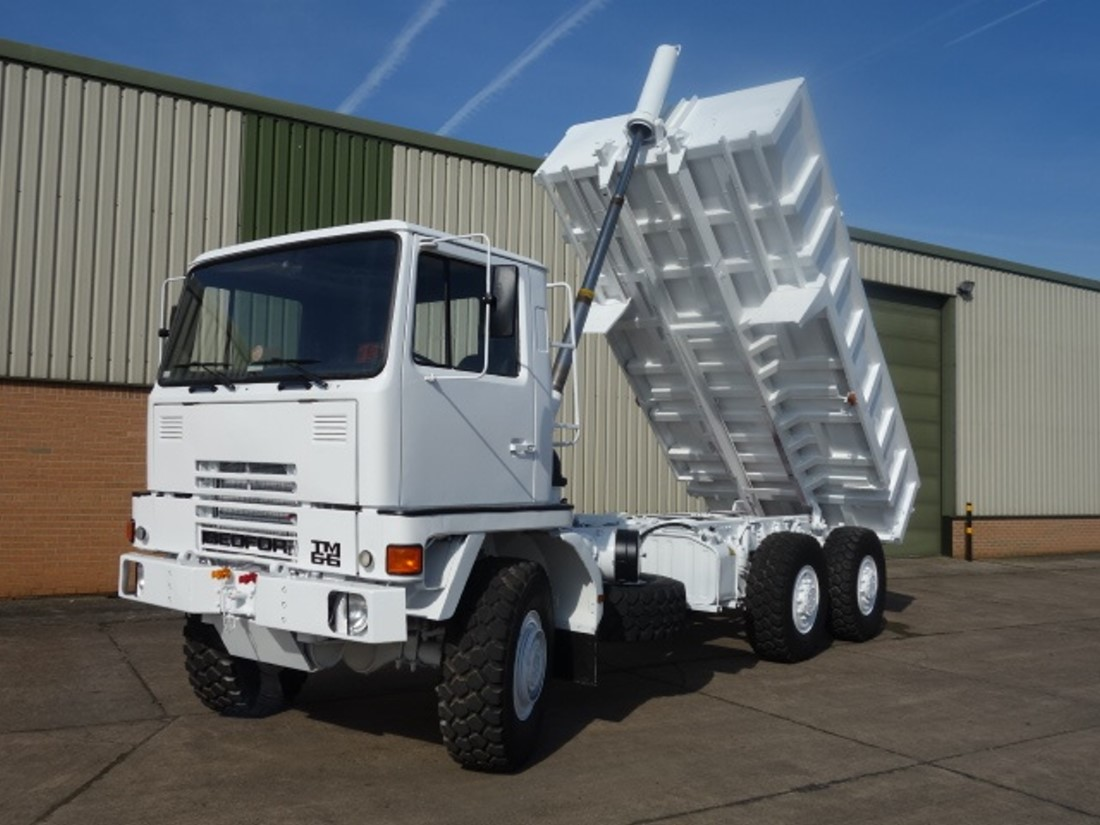 Bedford TM 6x6 Tipper Truck | Military Land Rovers 90, 110,130, Range Rovers, Mercedes for Sale