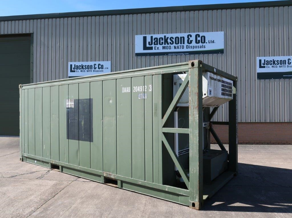 WAS SOLD 20ft Refrigerated/Freezer Container
