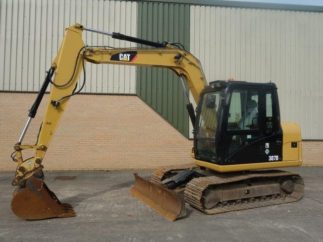 SOLD Caterpillar Tracked Excavator 307D | used military vehicles, MOD surplus for sale