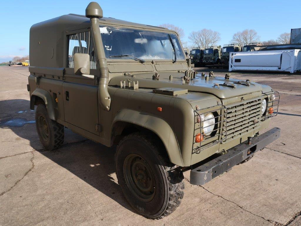 Just arrived Land Rover Defender 90 Wolf Hard Top (Remus