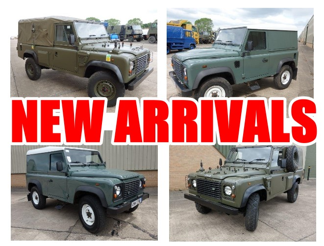 Just arrived 110 and 90 RHD Land Rover Defenders