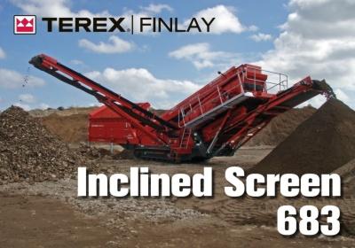 Latest arrivals....Terex Finlay 683 Screener