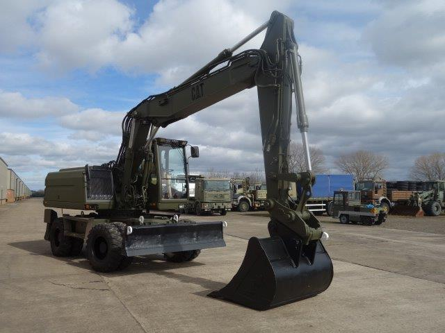 Was sold Ex Military Caterpillar 318M Wheeled Excavator | MOD direct sales