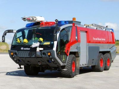 This is a very rare opportunity to purchase a Rosenbauer Panther CA-5.