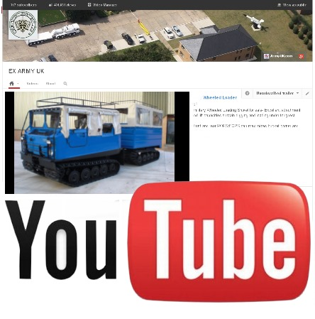 Watch our latest video on YouTube of the Hagglunds Bv 206 Soft Top