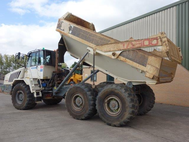 SOLD 4x Terex TA300 6x6 Articulated Dumpers