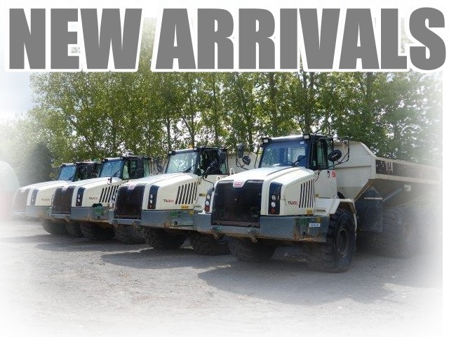 Just arrived  4x Terex TA300 6x6 Articulated Dumpers