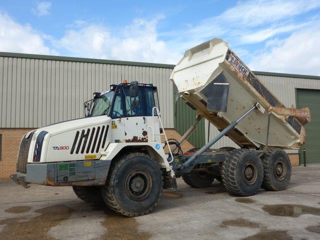 Just arrived 3x Terex TA300 6x6 Dumpers