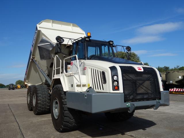 Just arrived 2x Terex TA400 dump trucks