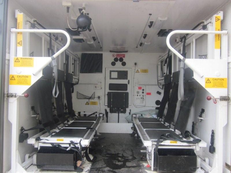Ambulances Land Rover 130 -Not many left now.