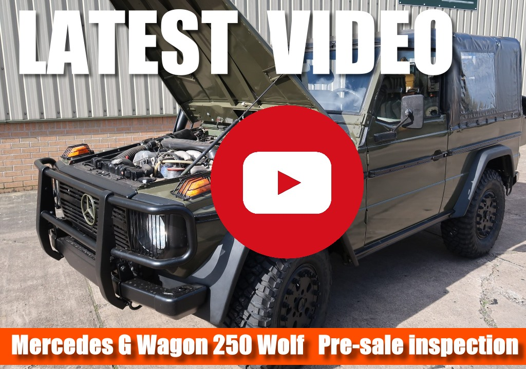 Mercedes G Wagon 250 Wolf latest video