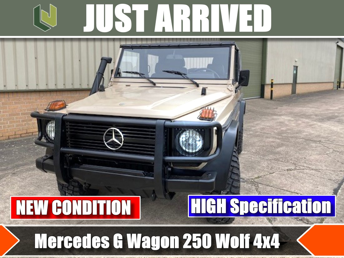 Just arrived Rare Mercedes G Wagon 250 Wolf | MOD direct sales