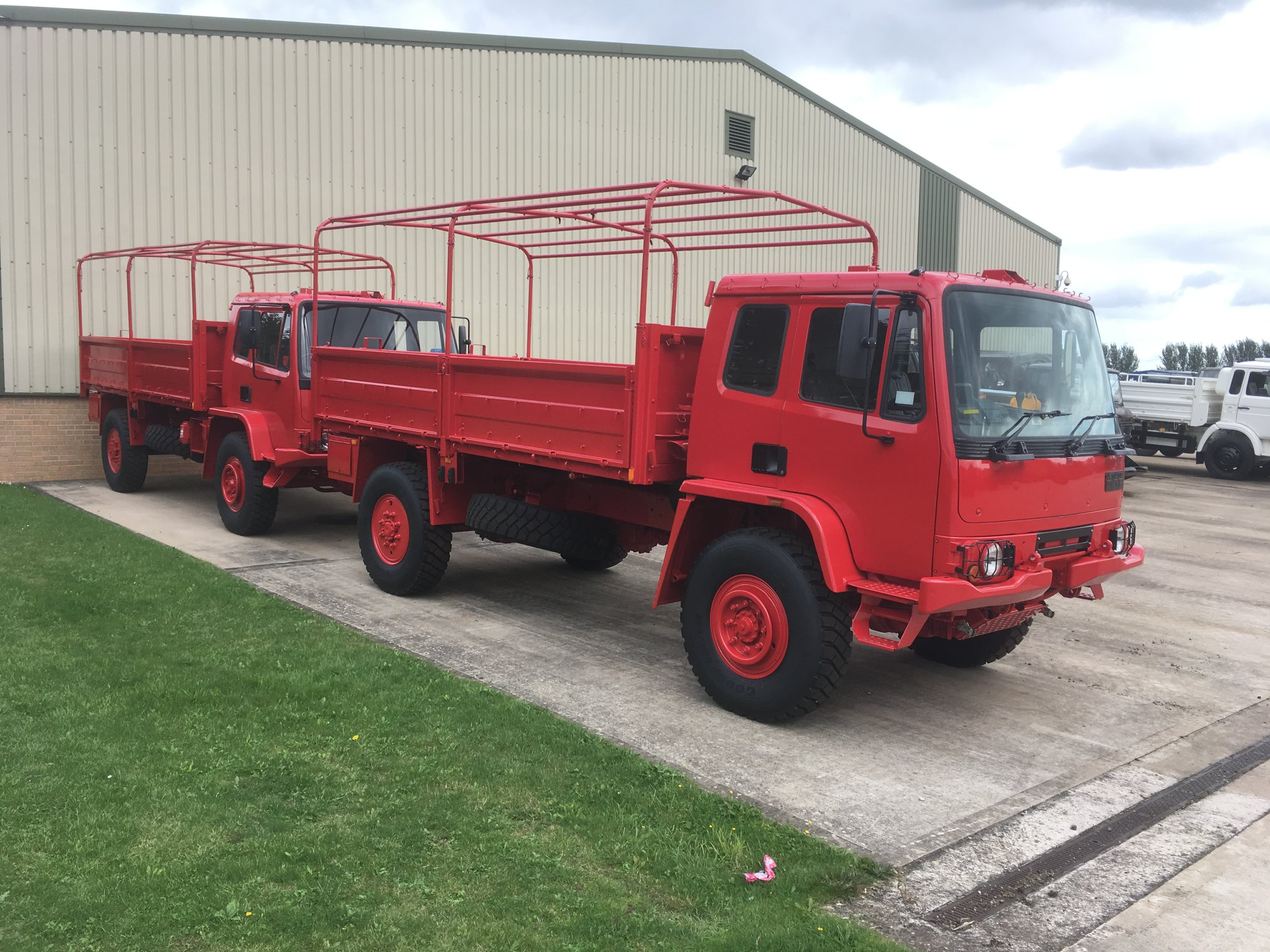Finished in red these trucks | MOD direct sales