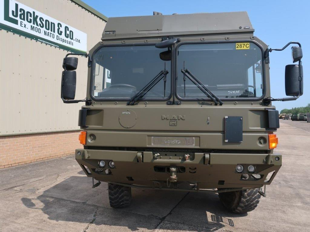 Just arrived MAN HX60 18.330 4x4 Flat Bed Cargo Truck RHD