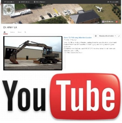 Watch our latest video on YouTube of the Caterpillar 318 army wheeled excavator