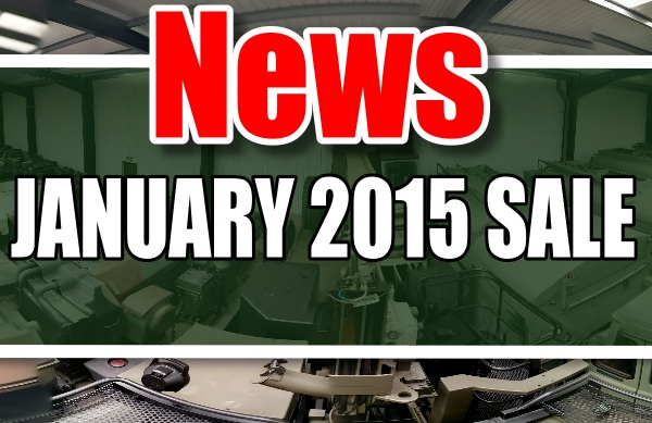 MOD/ NATO Disposals | JANUARY 2015 SALE
