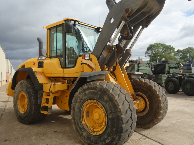 Just arrived  Volvo L120G Wheeled Loader for sale
