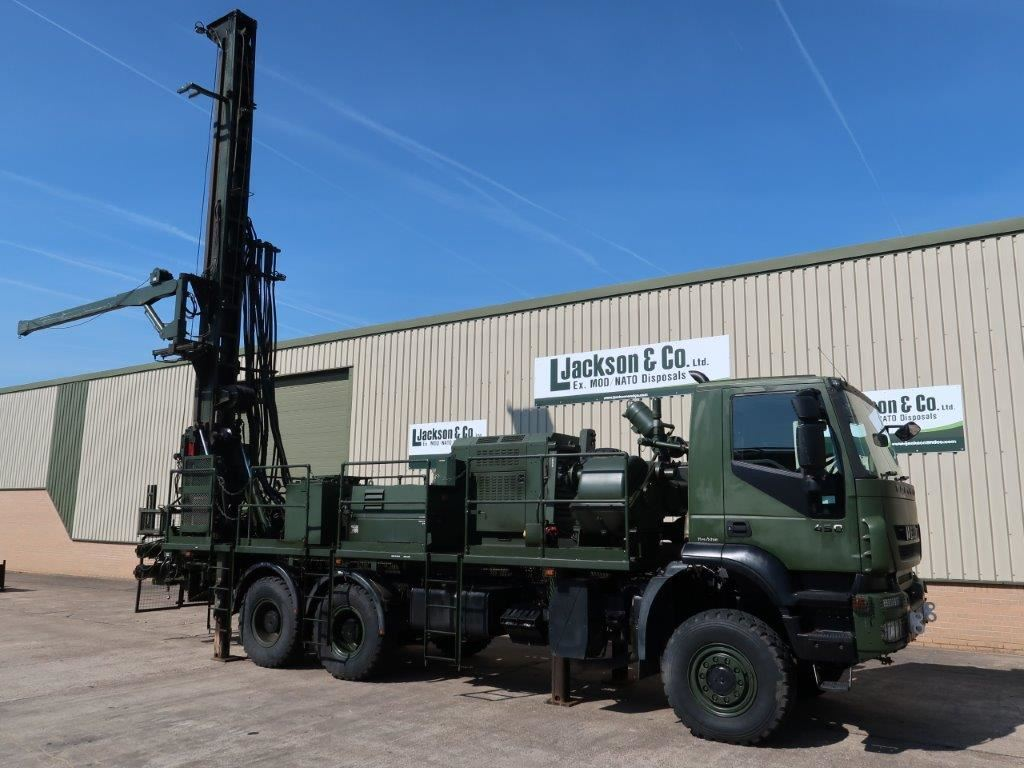 Just come in is this Iveco Trakker 6x6 450 Water Well Drilling Rig