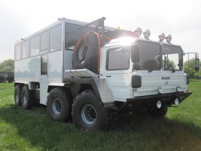 MAN 8x8 off-road truck for Iceland