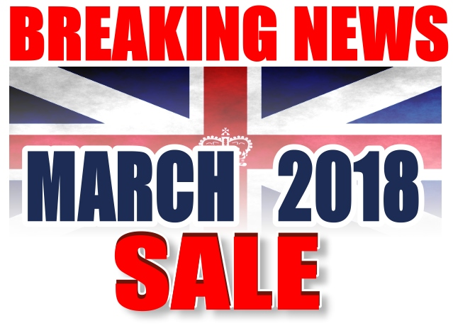 MOD/ NATO Disposals | MARCH 2018 SALE | MOD direct sales