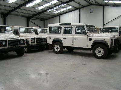 We currently have a large stock of Land Rover`s
