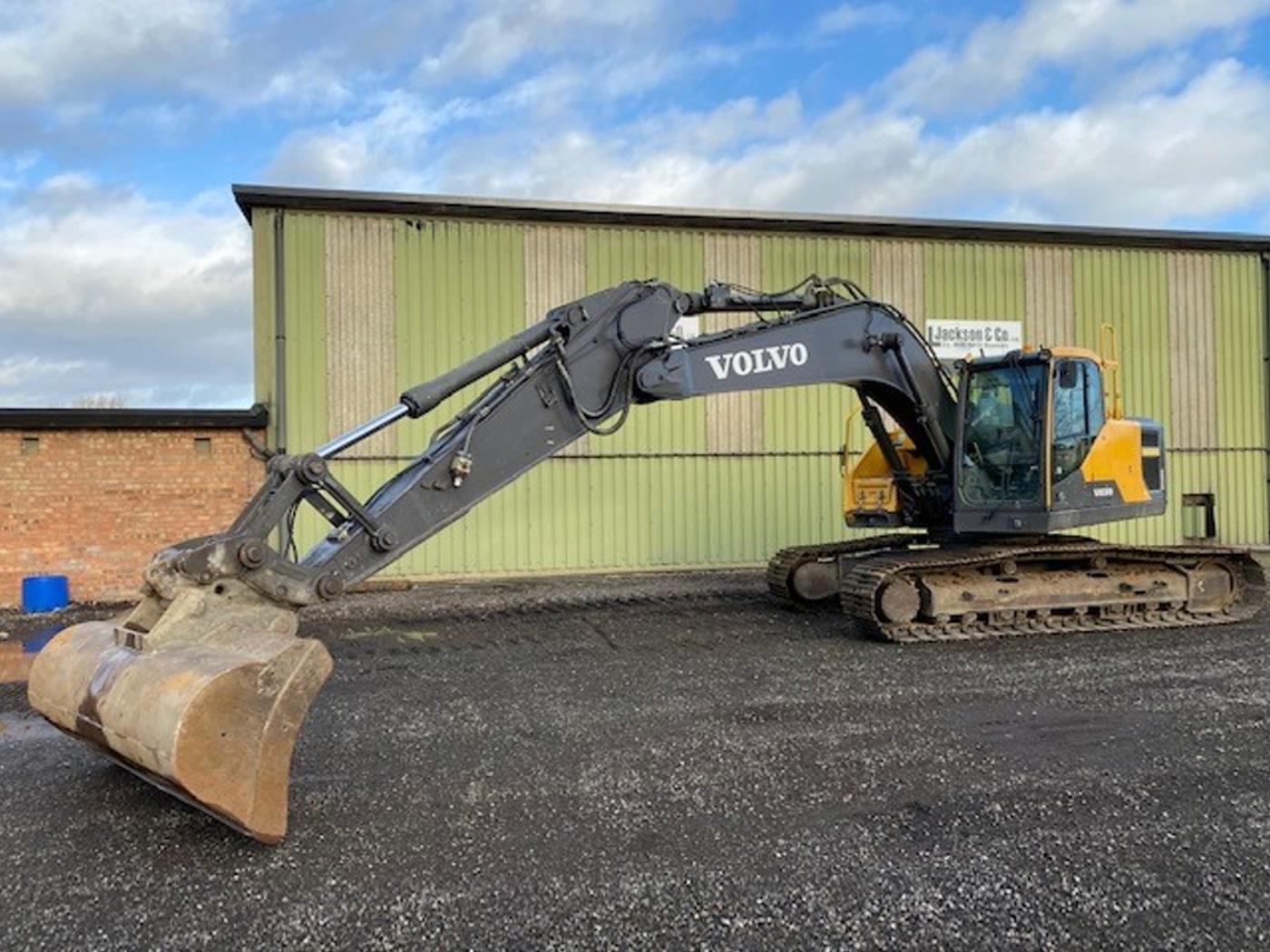 Just arrived 2  Volvo tracked excavators
