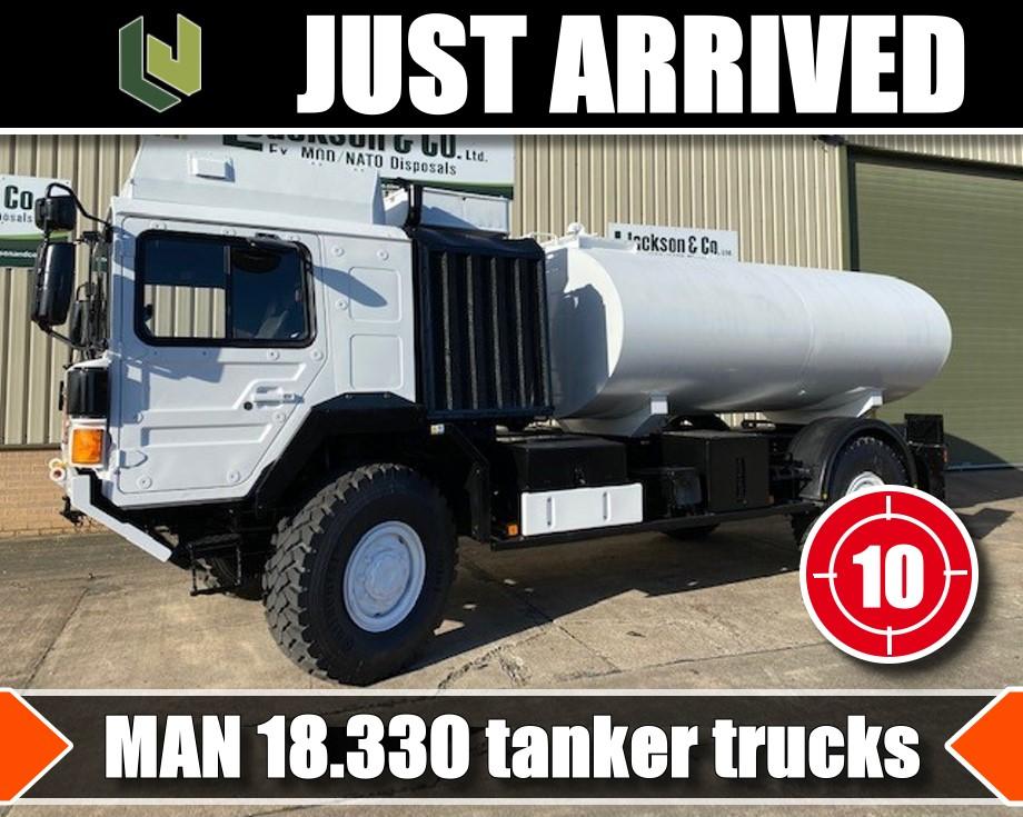 Just arrived 10 MAN 4x4  Tanker Trucks