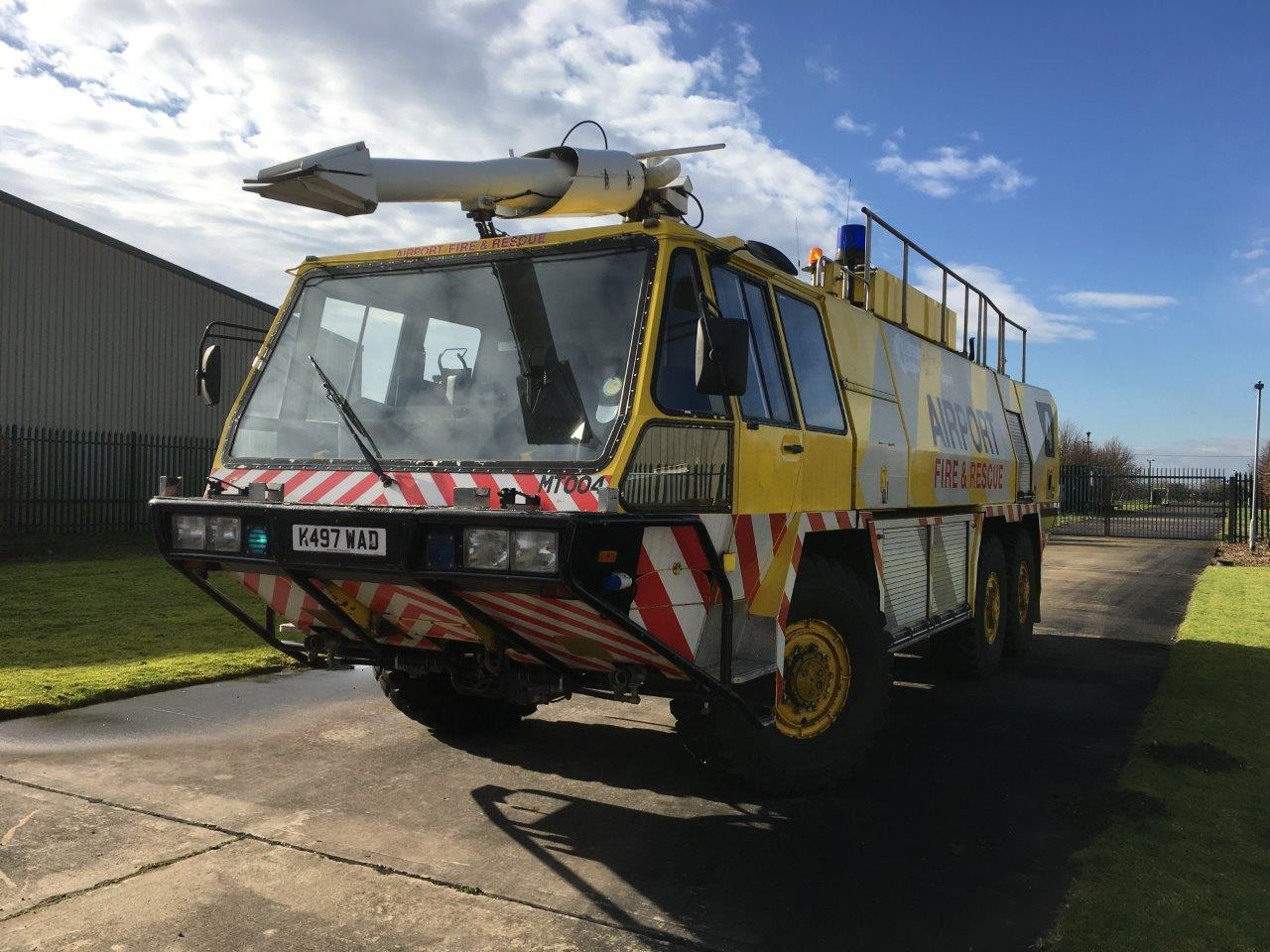 Just arrived Simon Gloster Protector 6x6 Airport Crash Tender