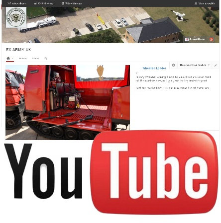 Watch our latest video  on YouTube of the Hagglund BV206 Fire Engine