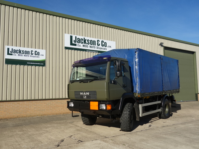 Just arrived MAN 10.185 4x4 drop side cargo truck | MOD direct sales