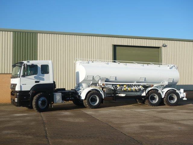 New arrival: Mercedes Axor 1836 8x6 tanker  truck