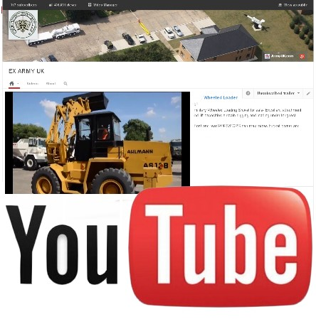 Watch our latest video on YouTube of the Ahlmann AS12B Wheeled  front loader