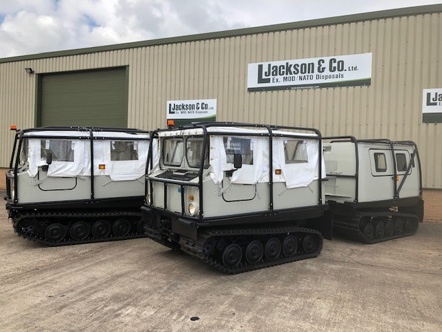 Two refurbished BV206 Soft Tops with Hard Top | MOD direct sales