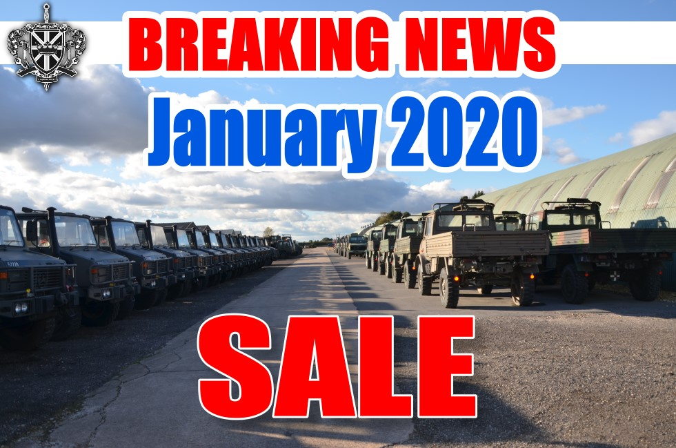 January 2020 MOD/ NATO Disposals .. | MOD direct sales