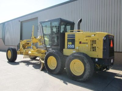 Latest arrivals: Caterpillar and Komatsu  motor graiders