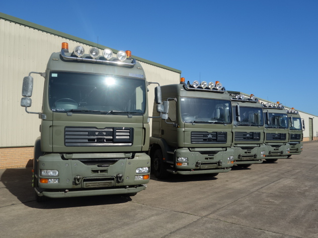 Just arrived 5x Used MAN TGA 26.430 6x4 RHD tractor units.