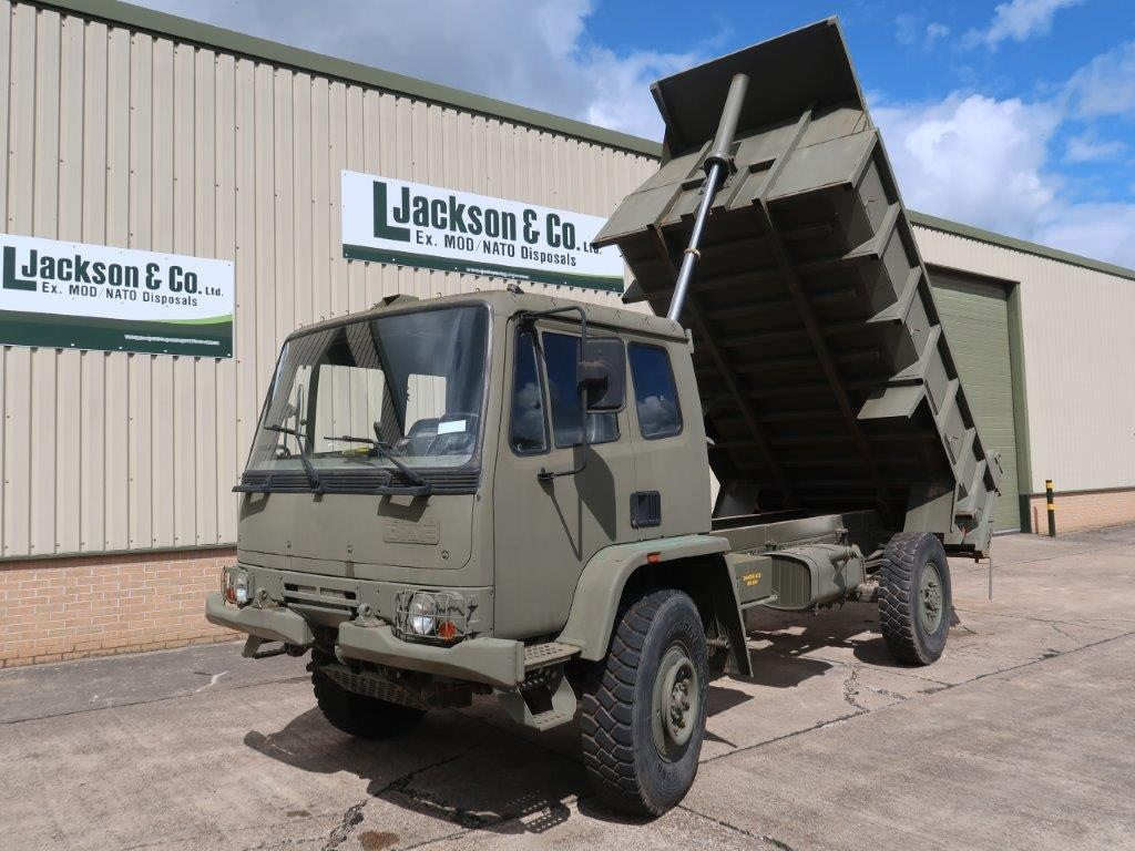 Just arrived Leyland Daf 4x4 Tipper Truck.