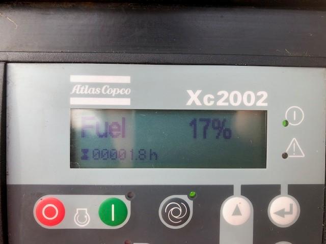 Atlas Copco XAMS 407 848 CFM Compressor