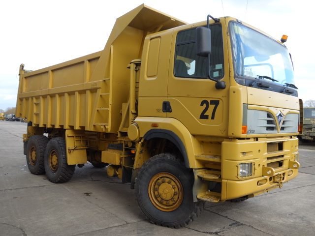 Legendary 21 Foden Alpha 3000 6x6 RHD dump trucks | MOD direct sales