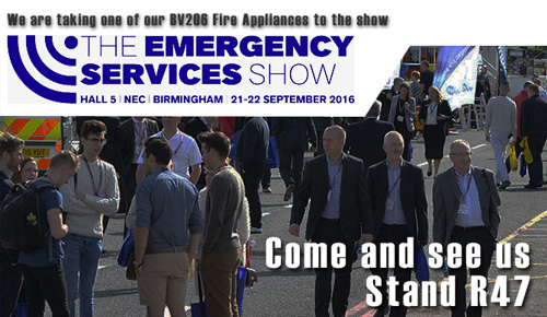 The emergency services show 21-22 September