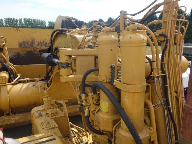 Just arrived Caterpillar 657E Motor Scraper